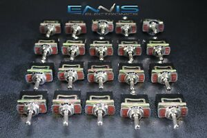 20 Pcs Toggle Switch Spdt On off on Toggle 10 Amp 250v 15 Amp 125v 3 Pin Ec 1535
