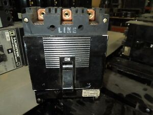 Square D Type Ml 1 999316 100a 3p 600vac Circuit Breaker Used