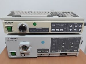 Olympus Cv 140 Video Processor And Clv 140 Light Source Endoscopy