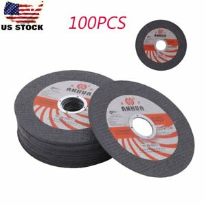 100x 4 1 2 x 040 x7 8 Cut off Wheel Metal stainless Steel Cutting Discs Oo3