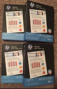 4 Office Ultra White Paper 8 1 2x11 In 20 Lb 92 Bright 2000 Sheets Total 112101