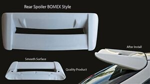 Rear Fiber Spoiler Wing 96 00 Fpr Style For Civic Ek3 Ek9 Hatchback