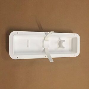 White Fire Extinguisher Wall Mount Pocket Recessed Bracket Holder Hanger Boat Rv