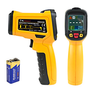 Uxcelldmiotech Temperature Gun Non contact Digital Laser Infrared Thermometer G