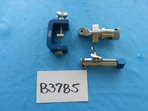 Codman Surgical Universal Flex Arm System Clamps Lot Of 3