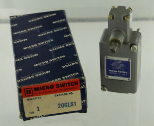 Honeywell Microswitch 206ls1 Limit Switch New