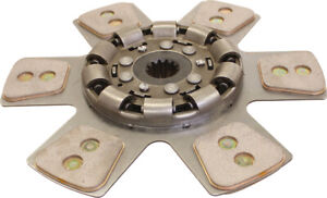 67736hd Clutch Disc Heavy Duty 6 Pad For International 1566 1568 Tractors