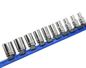 Williams 30922 10 Piece 1 4 Inch Drive Shallow 6 Point Socket Set