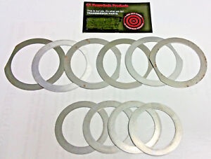 Th M 350 350c 250 250c Front And Rear 12 Pc Pump Case End Play Shim Kit 1969 on