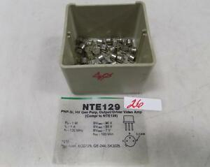 Nte Pnp Transistor Lot Of 40 Nte129 Nnb
