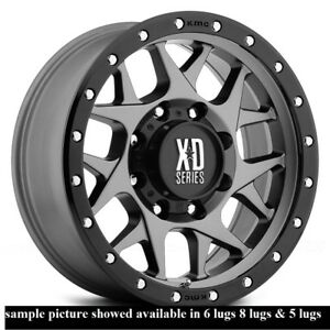 4 New 20 Wheels Rims For Gmc Sierra 1500 6 Lug 25183