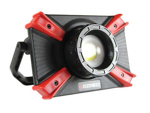 Ez Red Extreme 1000 Lm Cob Led Rechargeable Focusing Beam Work Light Usb Xlf1000