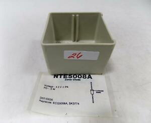 Nte Zener Diode Lot Of 31 Nte5008a Nnb