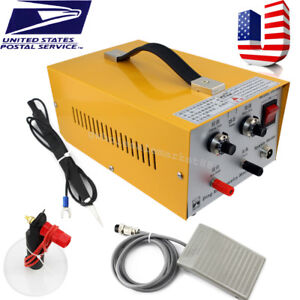 Usa Usps pulse Sparkle Spot Welder Electric Jewelry Welding Machine Gold Silver