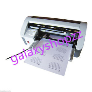 Desktop Semi automatic Business Name Card Cutter