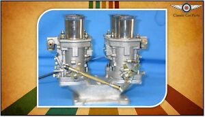 Twin 48 Fajs Idf Carburettor Kit weber Copy New Suits V8 Rod race Group C