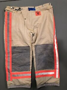 Morning Pride Firefighter Bunker Pants New Old Stock Size 40x30