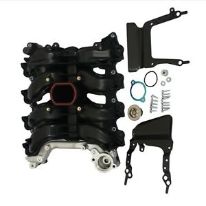 Intake Manifold W Gasket Thermostat O Rings Fit For Ford Lincoln Mercury 4 6l