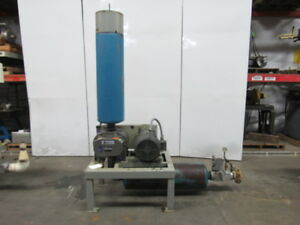 Gardner Denver Gafmdra 6mr 20hp Positive Displacement Blower Package 230 460 3ph