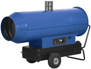 Construction Torpedo 300000 Btu Indirect Fired Portable Diesel Jobsite Heater