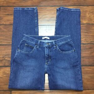 Riders by Lee Classic Fit Jeans Size 6P Petite Straight Leg Womens Medium Wash