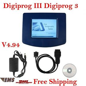 Cheap Digiprog Iii 3 Main Unit Oodmeter Programmer Diagnostic Tool Obd2 Cable