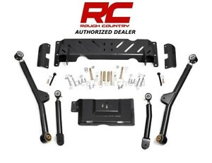 84 01 Jeep Xj Cherokee 4wd Rough Country 4 6 Long Arm Upgrade Kit 242 61600u