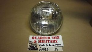 Jeep Willys Mb Gpw Dodge Wc 12 Volt Headlight Bulb 5 3 4 Fits Correctly