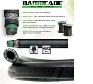 Gates 27342 Barricade 1 2 Id 12 7mm Fuel Injection Hose mpi 12 Inches