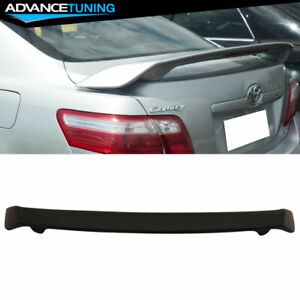 Fits 07 11 Toyota Camry Jdm Style Trunk Spoiler Matte Black Abs