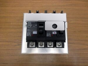 Interlock Panel With Square D 200 Amp 2 Pole Qg200 qgl22200 2 Breakers