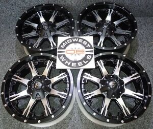 2003 2017 Expedtion 6 Lug Fuel Nutz Wheels Rims 20 20x9 6x135mm D54120909857