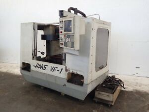 Haas Vf 1 Cnc Vertical Mill 14 X 20 Table 01180030014