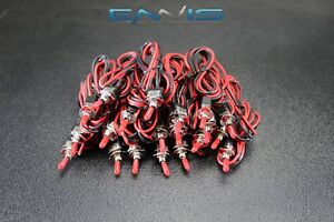 20 Pcs On Off Mini Toggle Switch Pre Wired 20 In 3 Amp 250v 6a 125 Vac Ibmts