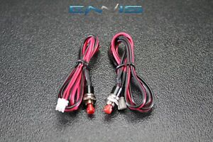 2 Pcs Push Button Plug In Valet Switch W 20 Inch Leads Toggle Rocker Ibvsw
