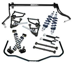 Ridetech 11320201 78 88 Monte Carlo Coil Over System Control Arm Kit Sway Bar