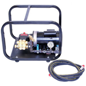 Wheeler rex 33100 Electric Powered Hydrostatic Test Pump 1000psi