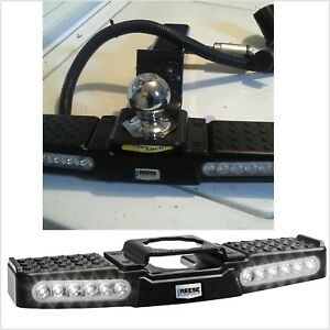 Trailer Hitch Step Led Lighted Towing Truck Step To 2 Receiver Reese Tow Power