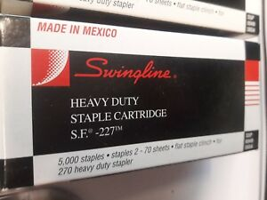 Swingline Heavy Duty Staples Ssp 6949 6654 Set Of 5