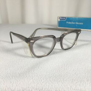 Norton Steampunk Protective Glasses 1968 With Box Glass Lenses Side Protection