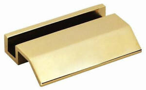 Free Engraved Personalized Brass Gold Tone Heavy Business Card Holder Desk Gift