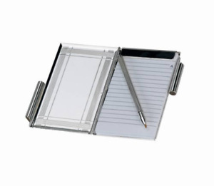 Free Engraved Personalized Silver Pocket Business Memo With Pen For Office