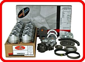 Engine Rebuild Kit 1986 1992 Chevrolet Sbc Truck 350 5 7l V8 W Flat Tops