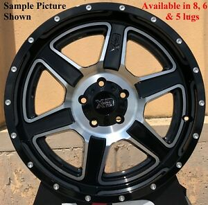 4 New 18 Wheels Rims For Nissan Nv 1500 2500 3500 8 Lug 21759