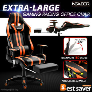 Neader Reclining Executive Xl Office Chair Ergonomic Gaming Chair W footrest
