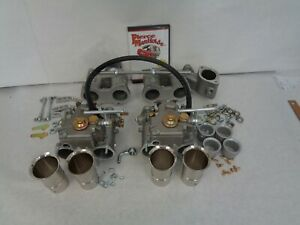 Toyota 20r Dual Weber 40 Dcoe Conversion Kit Manifold Linkage Genuine Weber