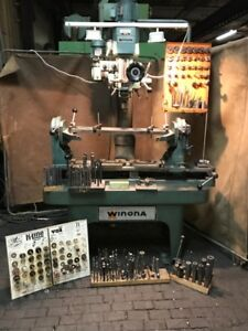Winona Van Norman Model Ph 6000 Seat Guide Machine With Tooling