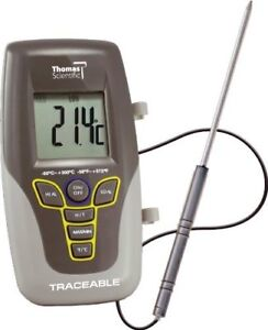 Lollipop Thermometer Traceable F c 50 To 300c 8 Inch Stem 1 0c 4371