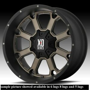 4 New 20 Wheels Rims For Dodge Ram 2500 8 Lug 21774