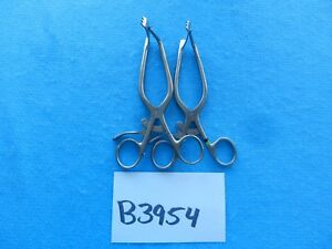 Codman Surgical Orthopedic Micro Discectomy Retractors 80 1650 Lot Of 2